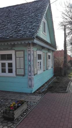 seledynowa chata
