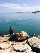 trani plaża